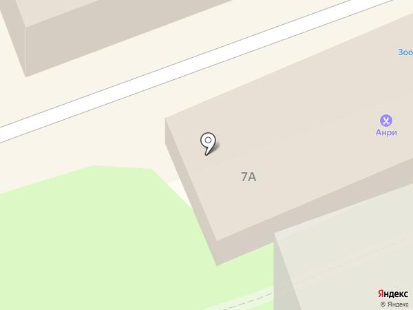 Магазин электроустановочной продукции на карте Красноармейска