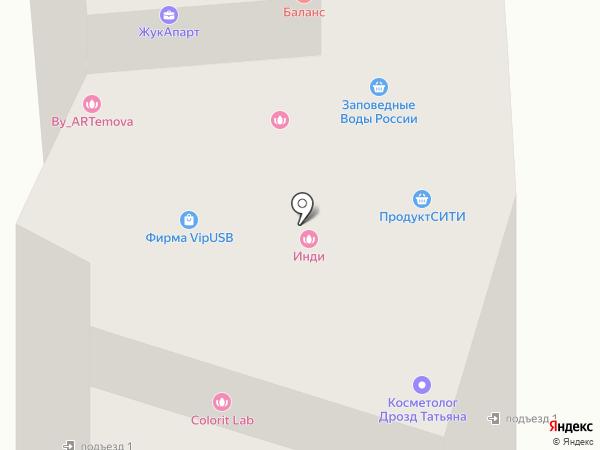Флагман на карте Жуковского