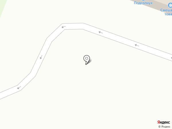 АЗС Роснефть на карте Абинска