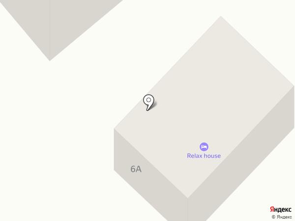 Relax House на карте Геленджика