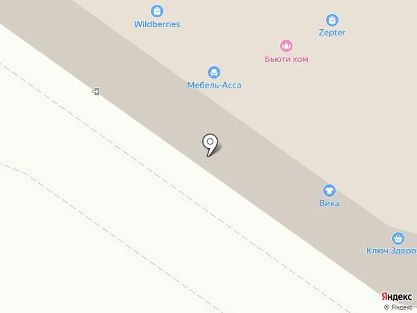 Блеск на карте Жуковского