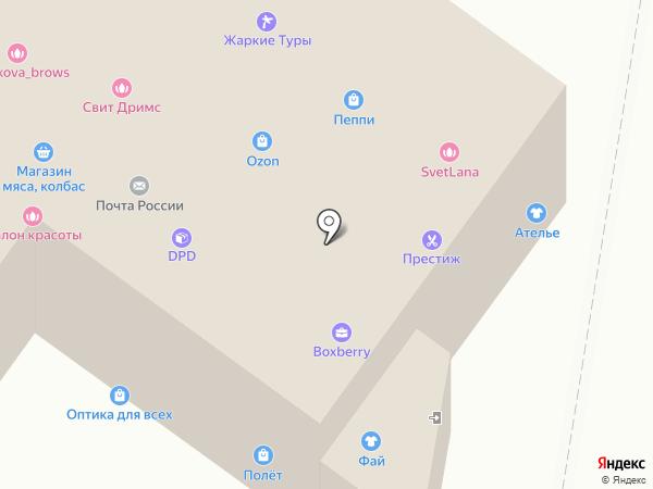 КАШТАН на карте Жуковского