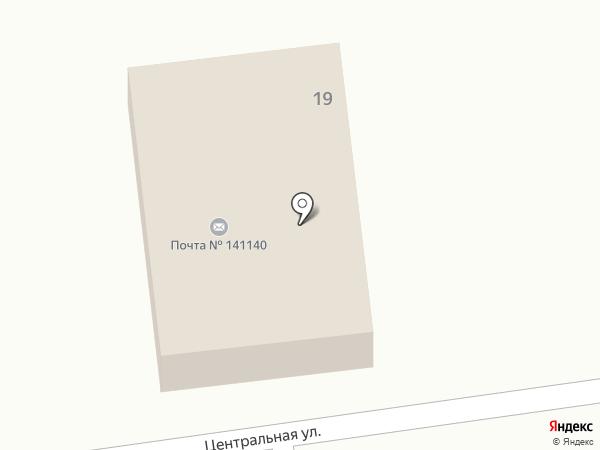 Почтовое отделение №141140 на карте Свердловского