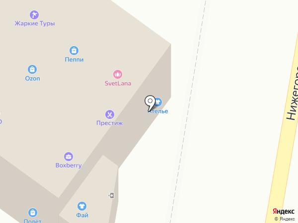 ЖКС на карте Жуковского