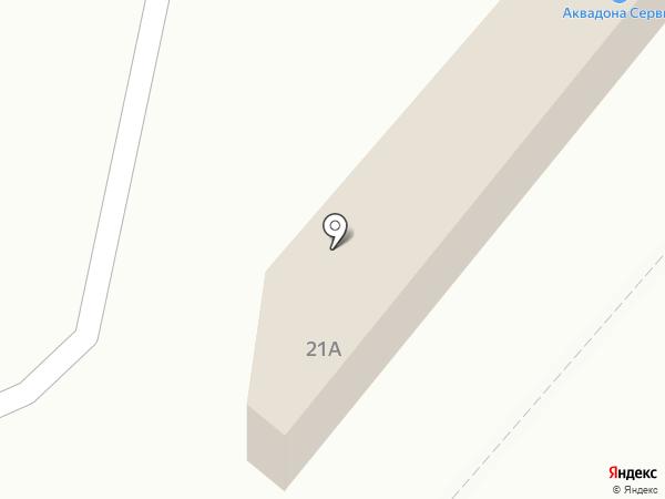 Скрепка на карте Харцызска