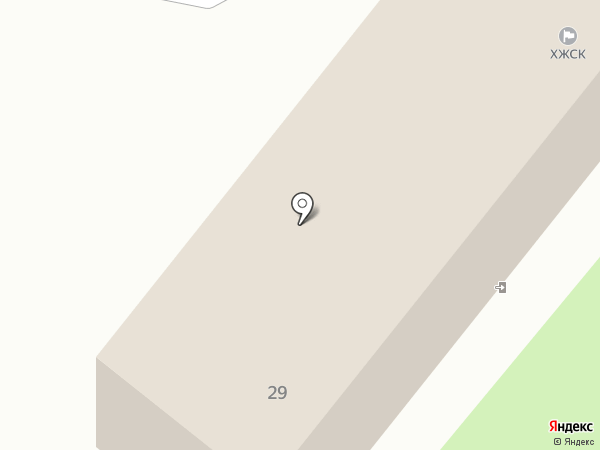 Монолит на карте Харцызска