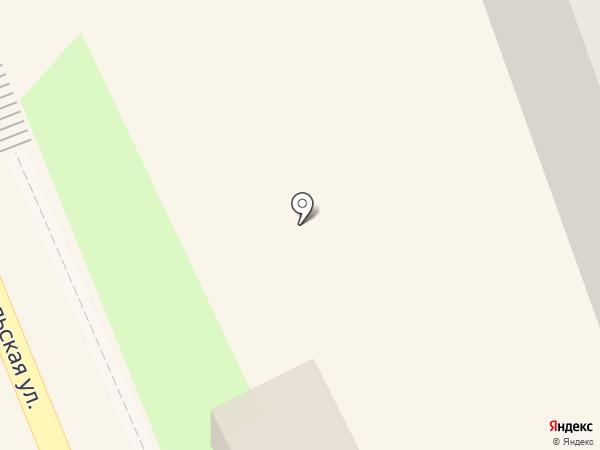 Киоск по продаже мороженого на карте Красноармейска