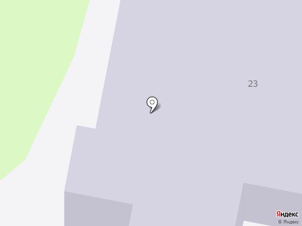 Средняя общеобразовательная школа №12 на карте Геленджика