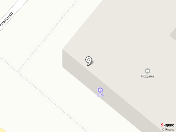 Макси на карте Харцызска