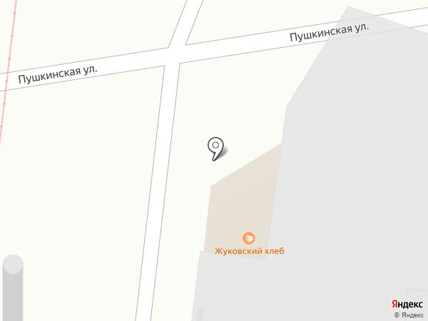 Жуковский хлеб на карте Кратово