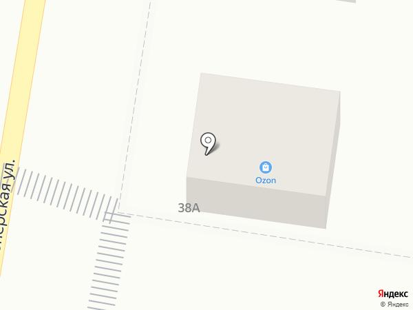 Магазин хозяйственных товаров на карте Абинска