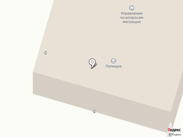 Участковый пункт полиции на карте Красноармейска