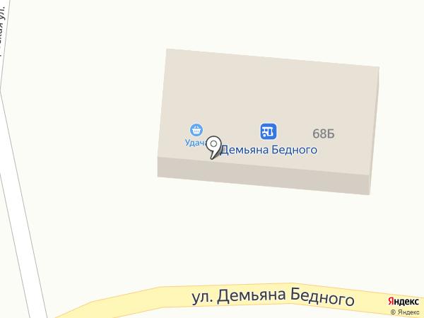 Удача на карте Абинска