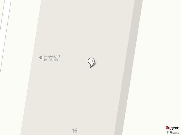 Магазин продуктов на ул. Простомолотова на карте Узловой