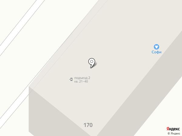 Софи на карте Харцызска