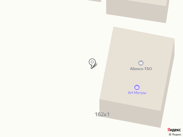 Абинск-ТБО на карте Абинска