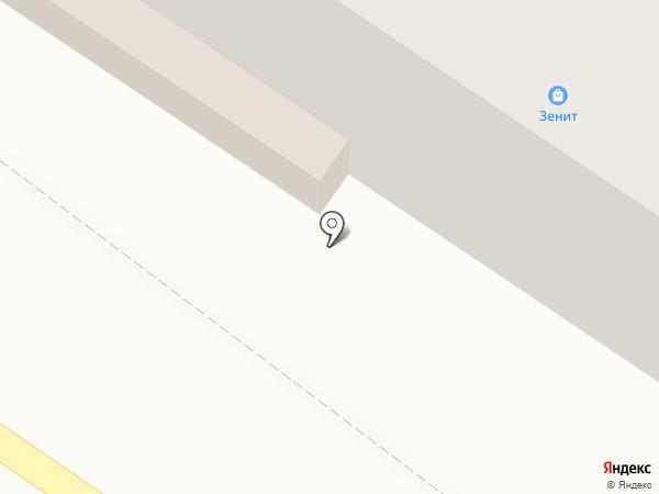 Зенит на карте Харцызска