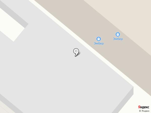 Эмбер на карте Харцызска