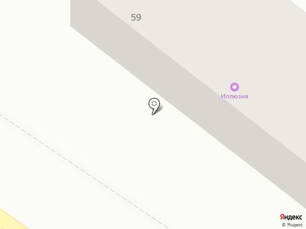 Харцызсктеплосеть на карте Харцызска