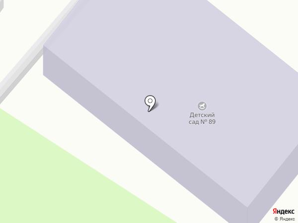 Детский сад №89 на карте Красного Октября