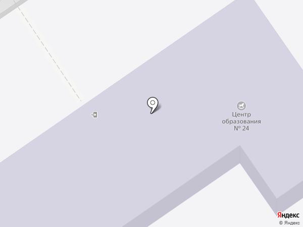 Детский сад №24 на карте Новомосковска