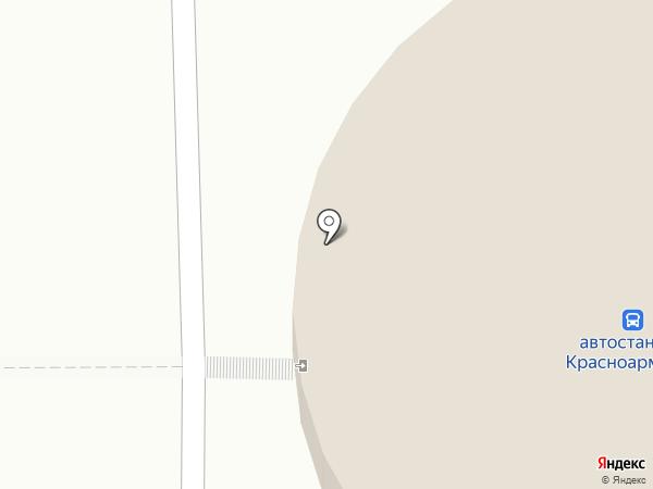 Платный общественный туалет на карте Красноармейска