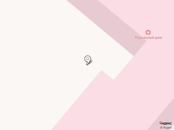 Харцызская центральная городская больница на карте Харцызска