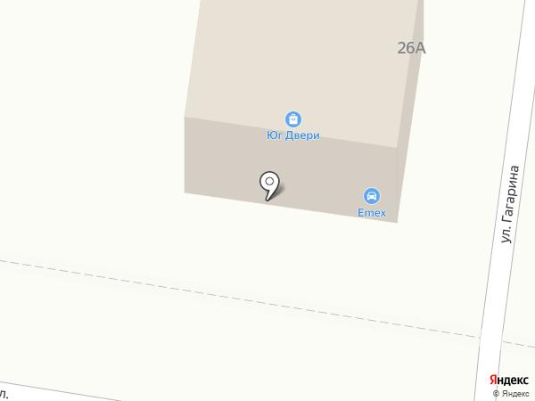 Ля`Бомба на карте Абинска
