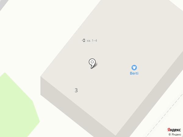 Барвинок на карте Харцызска