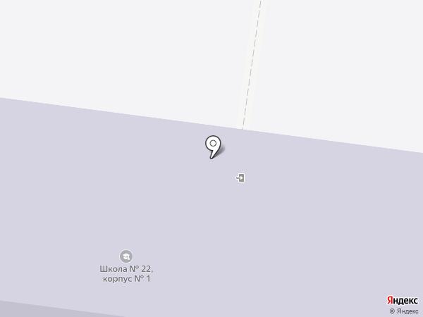 Средняя общеобразовательная школа №22 на карте Узловой