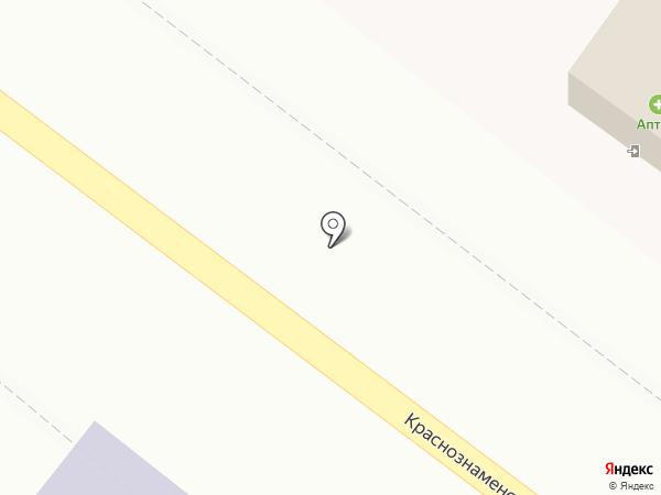 Акваточка на карте Харцызска