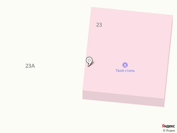 Диамант на карте Абинска