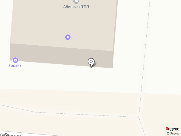 Абинская торгово-промышленная палата на карте Абинска