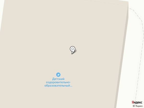 Детский оздоровительно-образовательный спортивный центр на карте Узловой