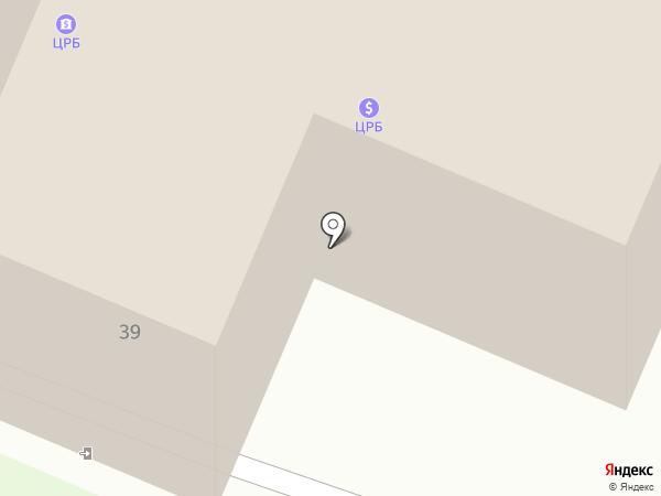 Банкомат, Центральный Республиканский Банк, ОГУ на карте Харцызска