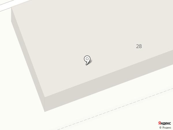 Магазин строительных и отделочных материалов на Центральной на карте Нижней Крынки