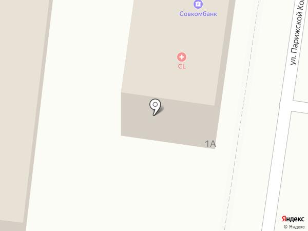 Банкомат, Совкомбанк, ПАО на карте Абинска