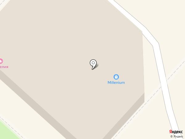 Миллениум, магазин на карте Харцызска