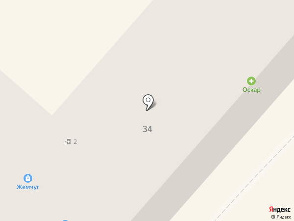 Изумруд на карте Харцызска