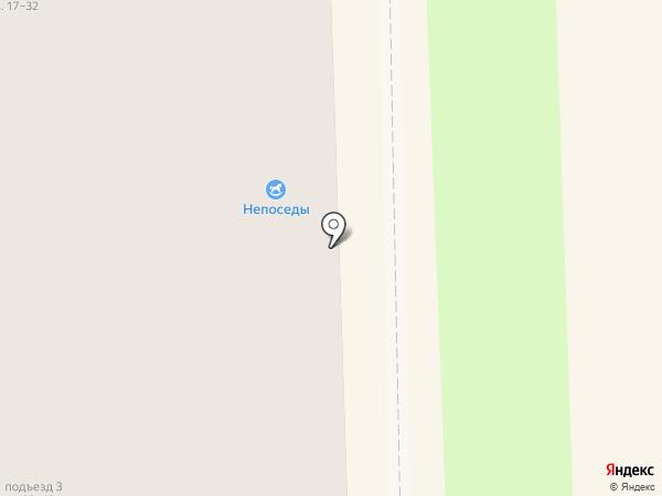 Непоседы на карте Узловой