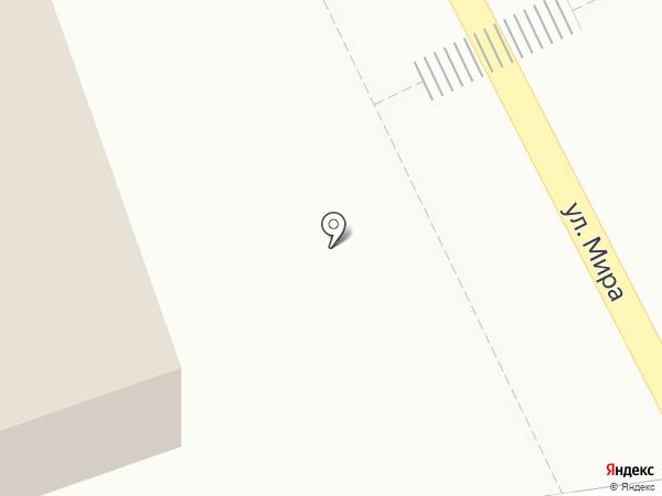 Магазин мясной продукции на карте Кратово