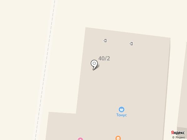 Магазин фастфудной продукции на карте Узловой