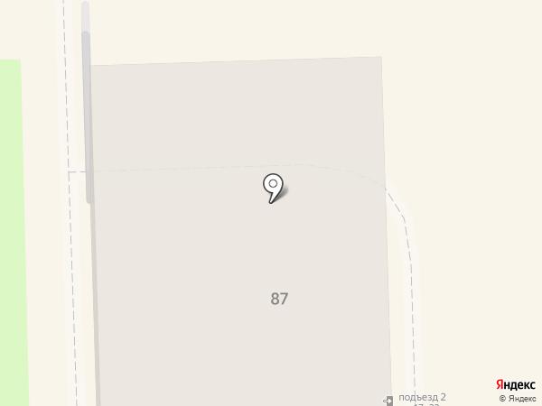 Пляж на карте Узловой