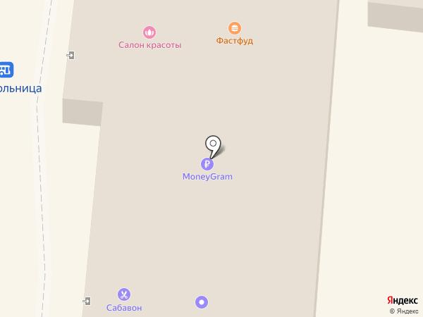 Сабавон на карте Узловой