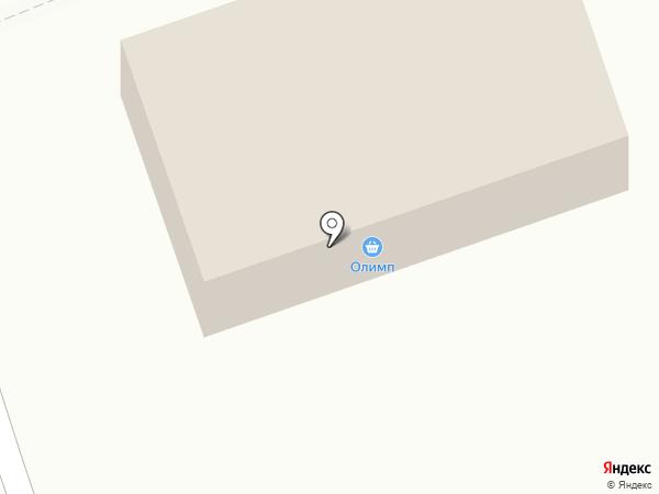Олімп, магазин отделочных и строительных материалов на карте Нижней Крынки