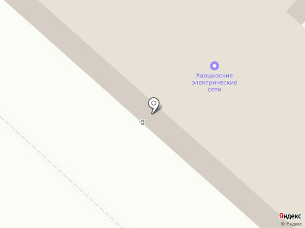 Харцызские электрические сети, ПАО ДОНЕЦКОБЛЭНЕРГО на карте Харцызска