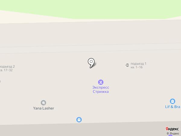 Лина на карте Узловой