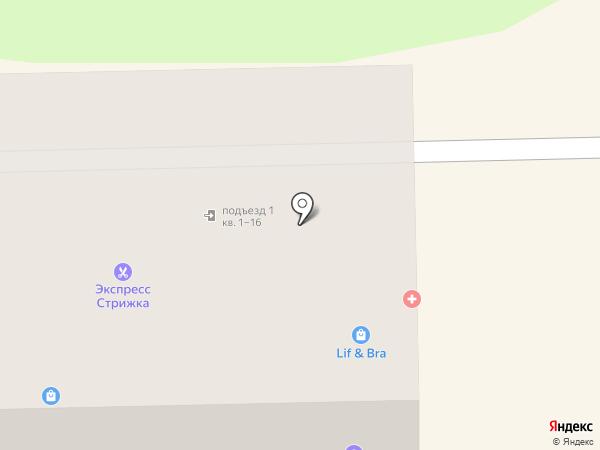 Зелёный свет на карте Узловой