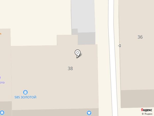 585 на карте Узловой