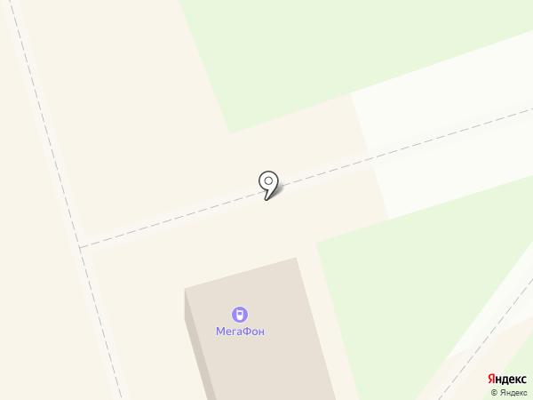 Мегафон на карте Узловой